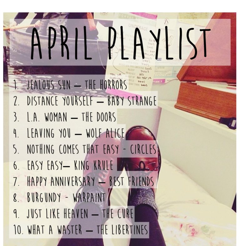 april playlist